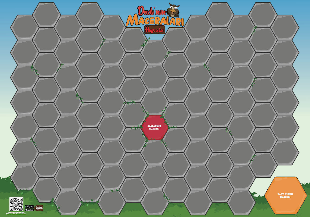 Oyun Matı (100x70 cm)